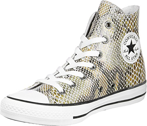 a Alto Ctas Unisex Collo Bianco Black Natural Marrone Hi Adulto Sneaker White Converse xTqwSCYw