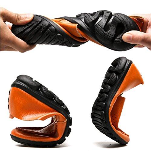NSHX orange Scarpe scarpe uomo da casual Bullock rnArwF6q8