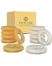 VONERO® Premium acupressuurring, verbeterd concept 2021, vinger-massage-ring & acupressuurringen, massagering voor pols, anti-stress en vingermassagering, set van 12 ringen