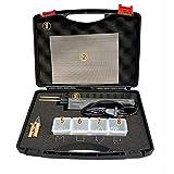 Binglinghua 110V/220V Hot Stapler Car Bumper Fender Fairing Welder Gun Plastic Repair Kit 200 Staples