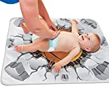 V5DGFJH.B Baby Portable Diaper Changing Pad Basketball and Old Plaster Wall Damage Urinary Pad Baby Changing Mat 31.5' x25.5''