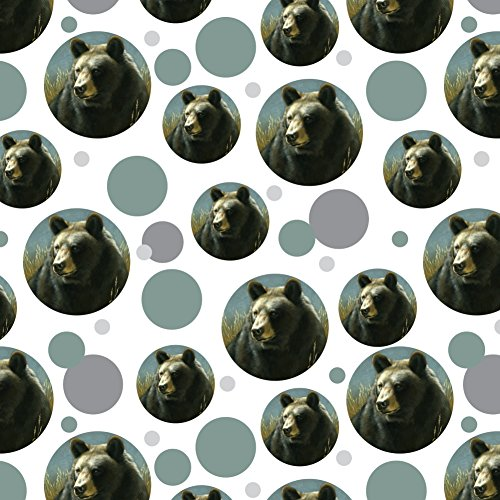 GRAPHICS & MORE Black Bear Big Game Hunting Premium Gift Wrap Wrapping Paper Roll