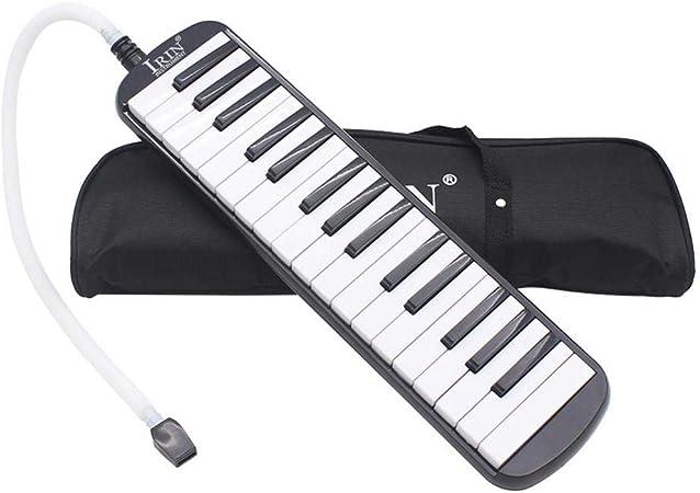 32 teclas Melodica Organ Teclado Piano Armónica con bolsa de ...