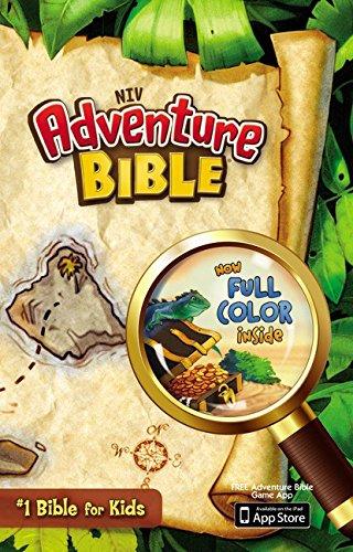 NIV, Adventure Bible, Hardcover, Full Color