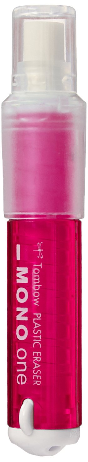 Tombow Holder Eraser, Mono One, Pink (JCB-111C)