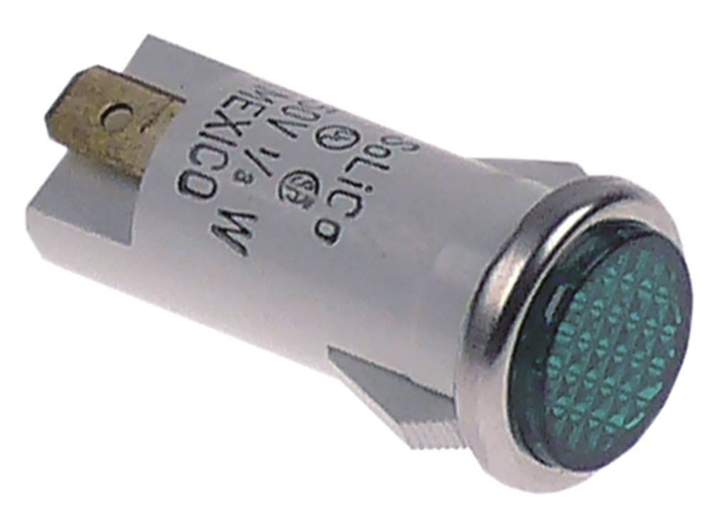 Signallampe f/ür W/ärmebr/ücke Hatco GRAH18 276007 gr/ün 230V 276004 GRAH54 GRAH42 276006 GRAH30 276005 Cookmax 276003