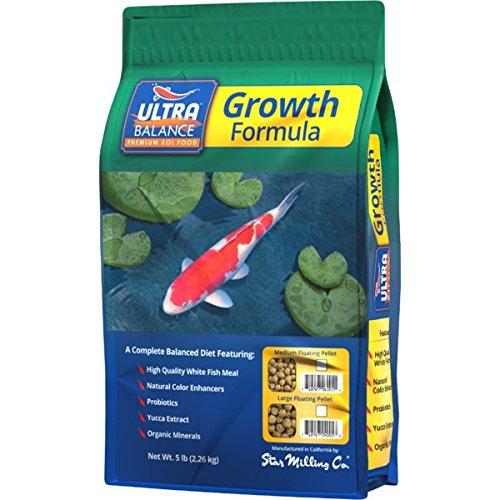 All Season Medium Pellet (Ultra Balance All-Season Koi Growth Diet - Medium Pellet 5 Lb)