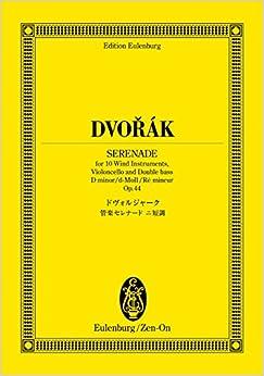 オイレンブルクスコア ドヴォルジャーク 管楽セレナード ニ短調 作品44 (オイレンブルク・スコア)