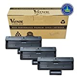 V4INK® Compatible Samsung MLT-D111S Toner Cartridge for Xpress SL-M2020 Xpress SL-M2020W Xpress SL-2070W Xpress SL-2070FW Printers (3 Pack)