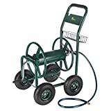 Palm Springs Garden Heavy Duty Water Hose Reel Cart