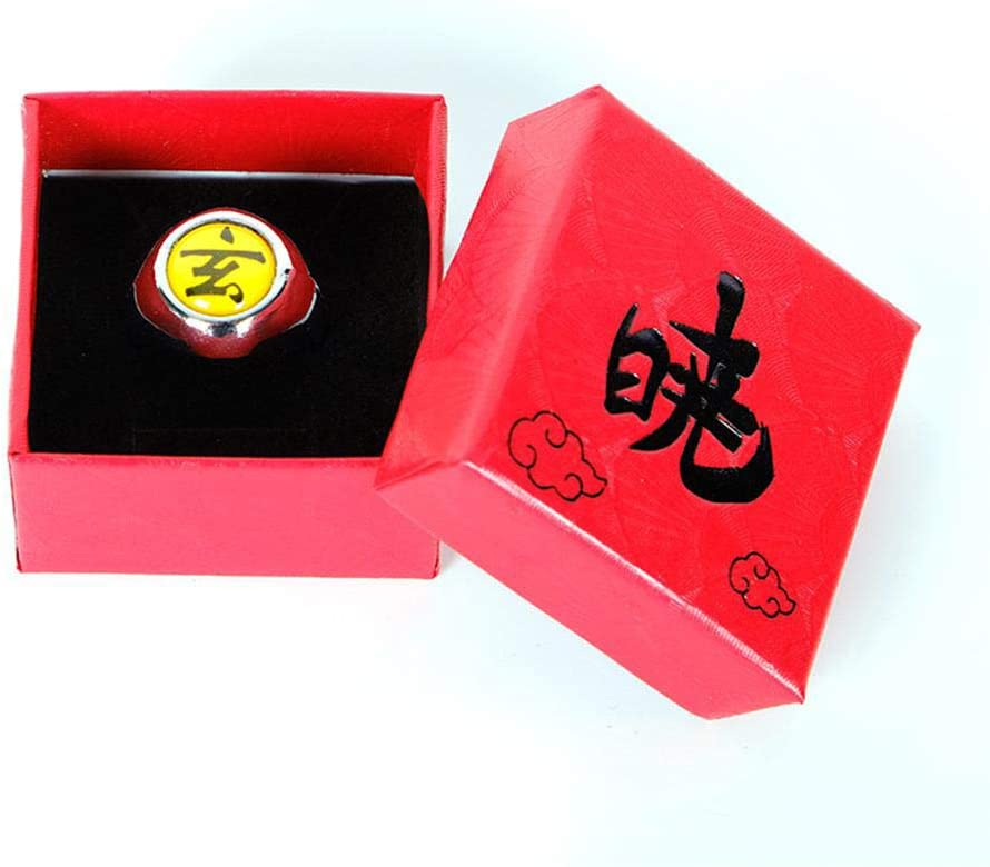 Ninja Rings /& Classic for Cosplay Ninja Anime Fans Party Costume Accessories 11 PCS