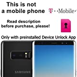 T-Mobile USA Unlocking Service for Samsung Galaxy S8, S8+, S7, S7 Edge, J7, ON5, Note 8, 4 and Other Models with Pre-installed Device Unlock App - Make Your Device More Useful - No Re-lock