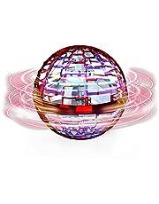 العاب الكرة الطائرة، اضواء فضاء لوني RGB مدمجة تدور 360 درجة