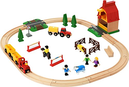Brio Horse Farm Set by Brio by Brio