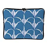DKISEE Abstract Patterns Neoprene Laptop Sleeve Case Waterproof Sleeve Case Cover Bag for MacBook/Notebook/Ultrabook/Chromebooks - YZTWX-929