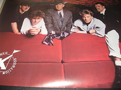1984 Frankie goes to Hollywood Relax Dont Do it Bi-Rite vintage poster ()