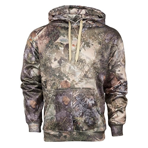(King's Camo Hunter Hoodie, Mountain Shadow, XXXX-Large)