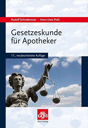 Gesetzeskunde für Apotheker (Govi)