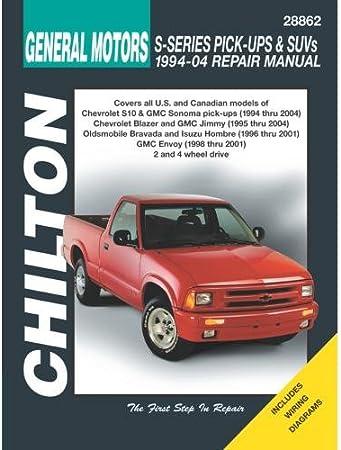 [DIAGRAM_38EU]  Amazon.com: Chilton Total Car Care Chevrolet S-Series Pick-Ups & SUVs,  94-04 (28862): Automotive | Aac Wiring Diagram For 95 S10 Pickup |  | Amazon.com