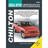 Chilton Total Car Care Chevrolet S-Series Pick-Ups & SUVs, 94-04 (28862)