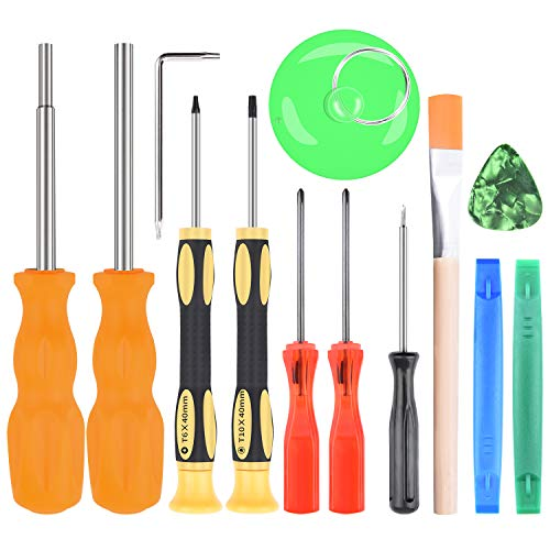 (Triwing Screwdriver for Nintendo - Professional Full Triwing Screwdriver Repair Tool Kit,3.8mm and 4.5mm Security Screwdriver Game Bit Tool Set for Nintendo Switch Joycon/Nintendo Wii/DS/DSL/GBA)