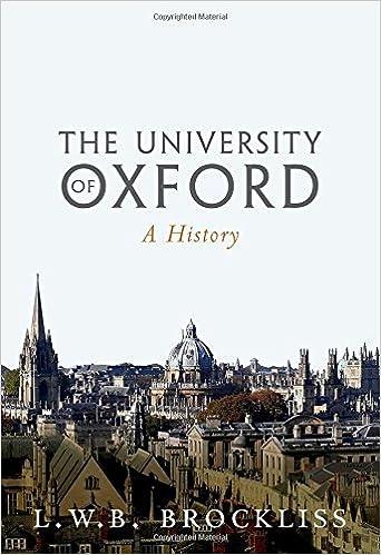 The University of Oxford: A History: Amazon.es: Brockliss, L.W.B.: Libros en idiomas extranjeros