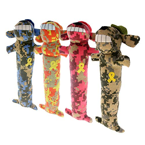Loofa Dog Support Our Troops 18