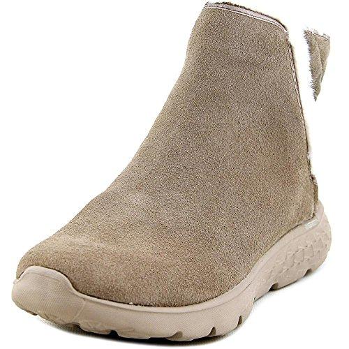 2017 Fashion Women Winter Boots Shoes (Beige) - 5