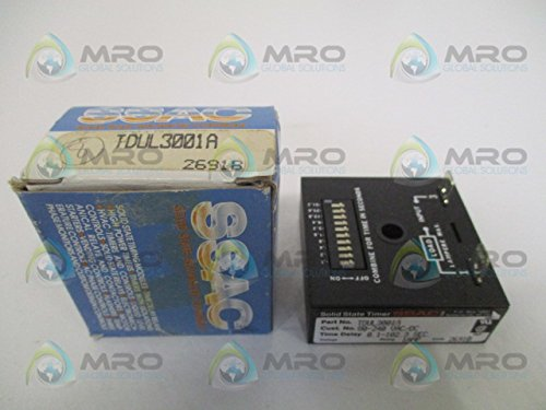 State Solid Ssac Timer (SSAC TDUL3001A Solid State Timer T119268)