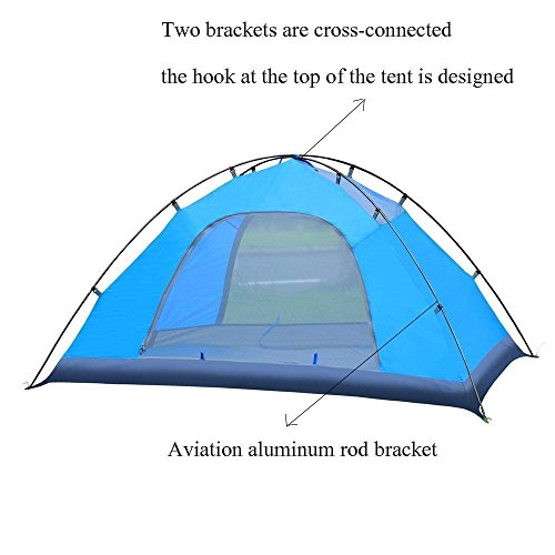 Caromy-2-Person-C&ing-TentDouble-Layer-3-Season-  sc 1 st  Discount Tents Nova & Caromy 2 Person Camping TentDouble Layer 3 Season Outdoor Windproof ...
