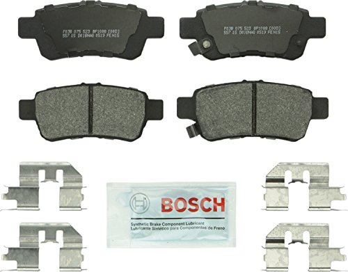 Bosch BP1088 QuietCast Premium Semi-Metallic Rear Disc Brake Pad Set