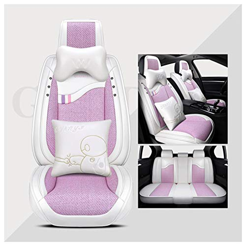 (Automotive Seat Cushions Car seat Cushion Car Seat Cover Good Breathability and Comfort Can Alleviate Driving Fatigue Office Chair Universal Size (Color : Pink, Size : #3))