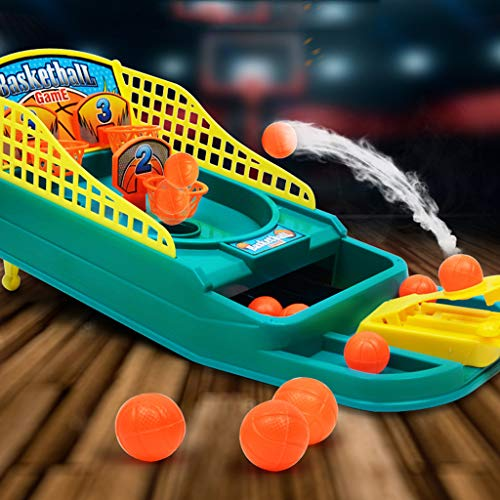 Livoty Arcade Ball Mini Shoot Game Desktop Basketball Shooti