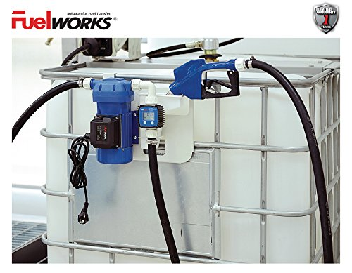 New Fuelworks 120V 8GPM DEF Transfer Pump Kit- Chemical Fluid Electic Dispensing by Fuelworks