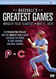 Baseballs Greatest Games: 1979 Wrigley Field Slugfest by A&E Entertainment by Major League Baseball