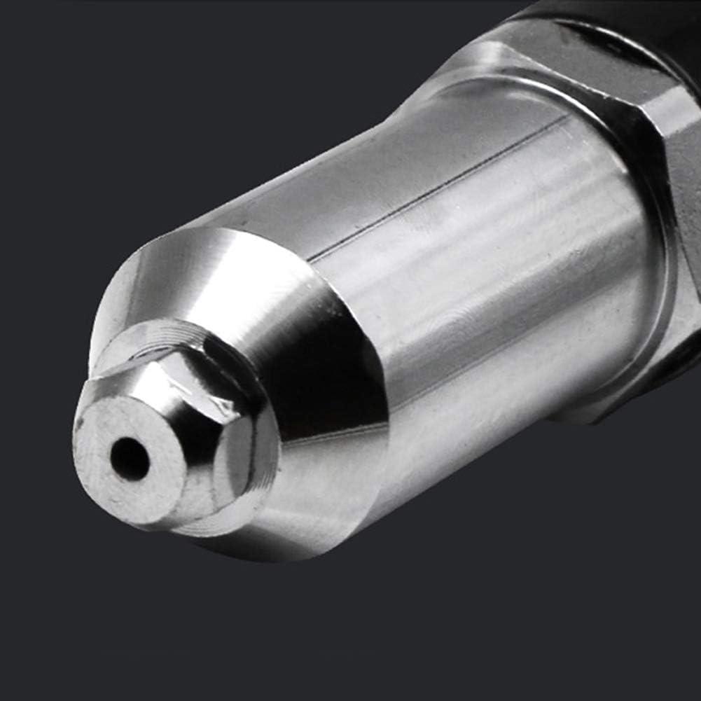 rivettatrice Kit di Attrezzi da Inserire Dadi Adattatore per Trapano Elettrico Taglia Libera Dyda6 Pistola per rivettatrice Senza Fili Nero