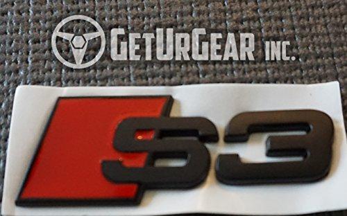 GetUrGear Audi Rear / Side Badge Emblem (S3, S3 Rear Emblem)