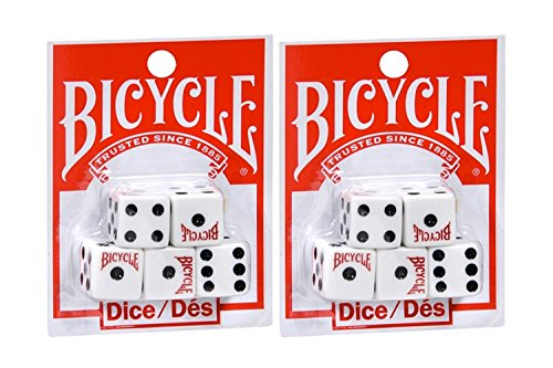 - Bicycle Five Dice Set (2 Pack)
