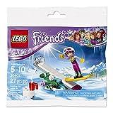 PARTY PACK Bundle of 8 LEGO Friends MiniFigure - Stephanie (w/ Snowboard, Helmet & Ski Pants) 30402