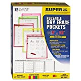 CLI40820 - Reusable Dry Erase Pockets