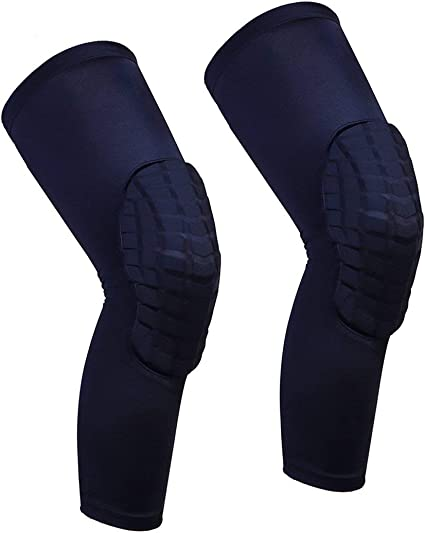 Sports Knee Pad Basketball Leg Long Sleeve Thicken Thermal Braces Leg Protector