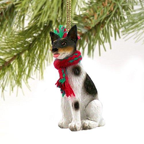 (Rat Terrier Miniature Dog Ornament)