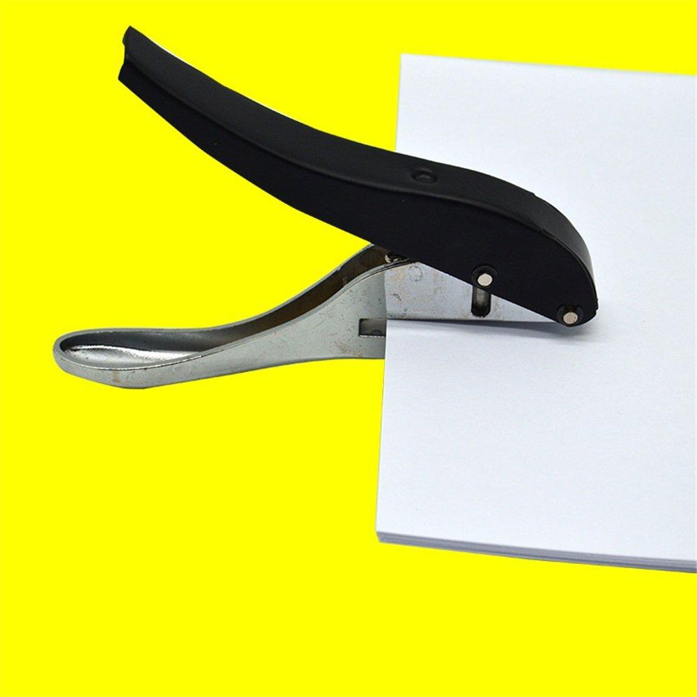 Taille : 3mm les projets dartisanat Pour les enfants l/école Perceuse /à un seul trou /à main perforatrice Pointes de per/çage /à trou unique fort Poin/çonneuse de film de carte de boursouflure