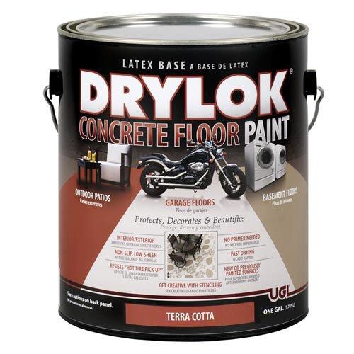 DRYLOK Concrete Floor Paint, 1 Gallon, Terra Cotta