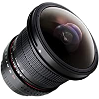 Rokinon HD8M-P 8 mm F3.5 HD Fisheye Lens with Removable Hood for Pentax K Mount Cameras44; Pack of 1
