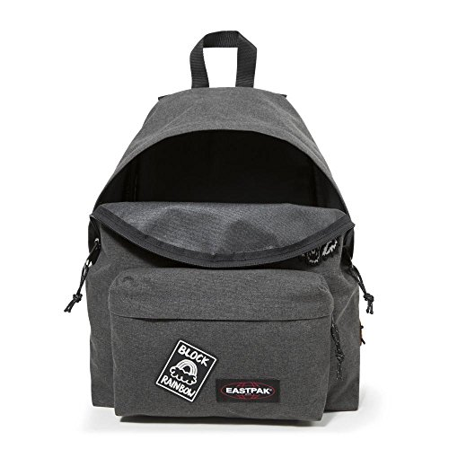 Eastpak Padded Pak'r Mochila Tipo Casual, Diseño Instant Crush, 24 Litros, Color Rosa Black Patched