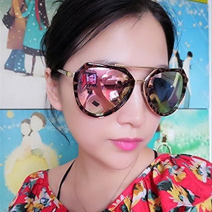 85e8cdc4e0 xinhao Gafas de Sol Cara Redonda Marea Hembra Gafas anteojos de Sol  polarizados Gafas de Conductor