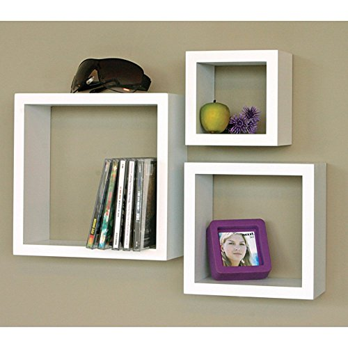 3 Piece Cubby Wall Shelf