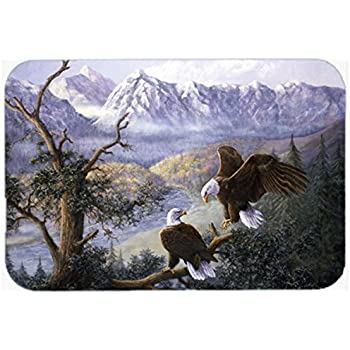 "durable modeling Caroline's Treasures BDBA0114CMT""Black Bears by Daphne Baxter"" Kitchen or Bath Mat, 20"" H x 30"" W, Multicolor"