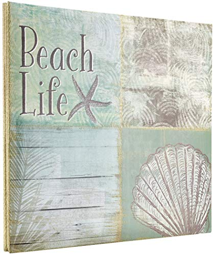 MCS MBI 13.5x12.5 Inch Beach Life Theme Scrapbook Album with 12x12 Inch Pages (860121) ()